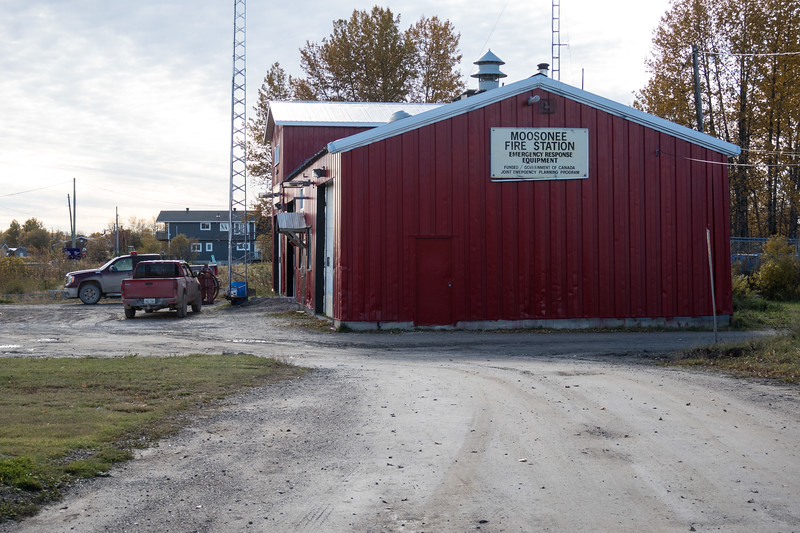 Moosonee Fire Hall.