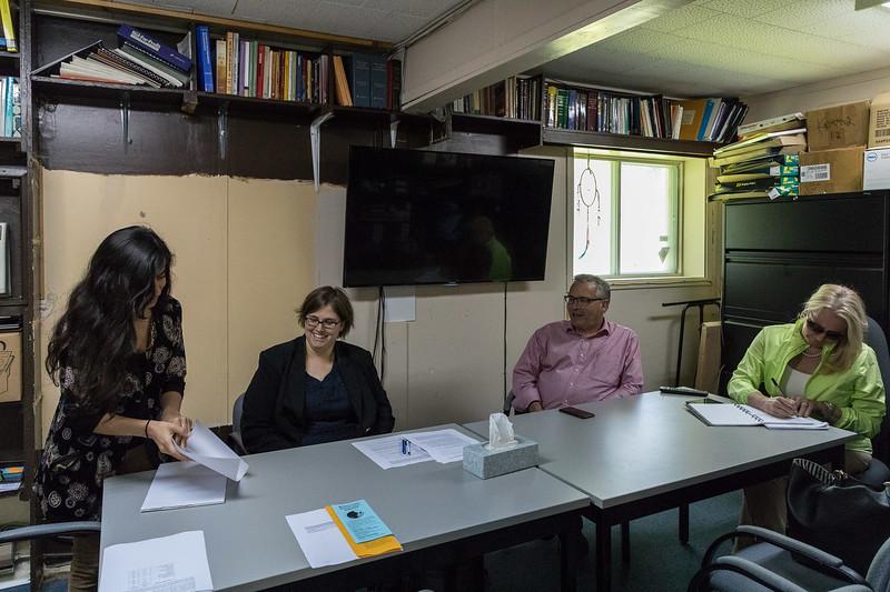 Ruchi Punjabi, Theresa Lubowitz, Chris Ballard, Karen Glass.