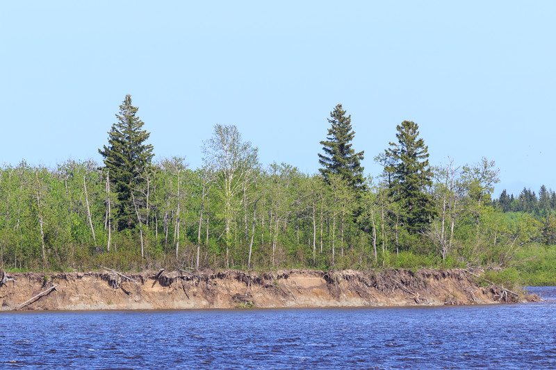 South end of Butler Island at high tide.