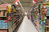 Aisle in Moosonee Northern.
