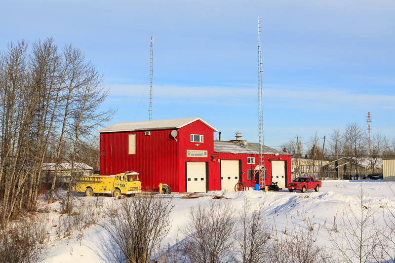 Moosonee Fire Station.