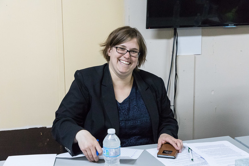 Theresa Lubowitz at Keewaytinok Native Legal Services in Moosonee.