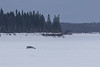 Vehicle on the Moose River that was headed towards Moose Factory that turned back.