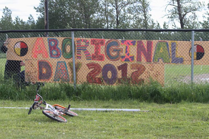 Moosonee National Aboriginal Day 2012 June 21st events at Baseball Diamond.