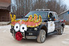 Moosonee Santa Claus parade 2011 November 19th- Ontario Provincial Police OPP.