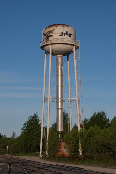 Moosonee water tower.