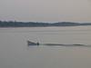 Canoe on the Moose River at Moosonee 2003 September 10th.