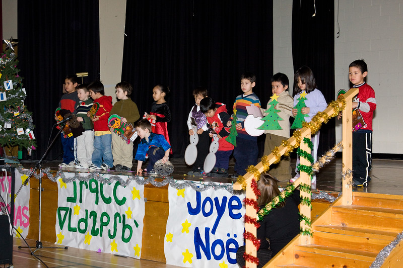Bishop Belleau Separate School Christmas Concert 2007 December 13.