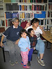 Fintan Lee, Yuke Man, Meridian Loon and Cecilia Lee in the library 2004 July 16