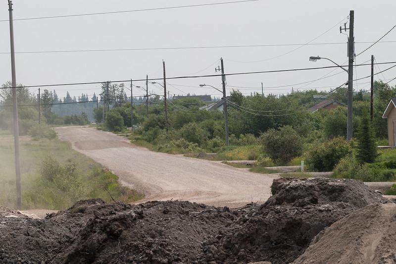 Gardiner Road from near tracks.