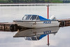 Ontario Provincial Police boat C05793ON at Two Bay Docks in Moosonee 2005 May 29.