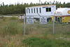 End of the Moosonee Airport fence 2004 September 26