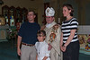 Bishop Cadieux with family.
