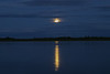 Moon rising across the Moose River 2004 September 27