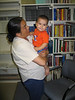 Mary Blueboy with grandchild 2003 August 26