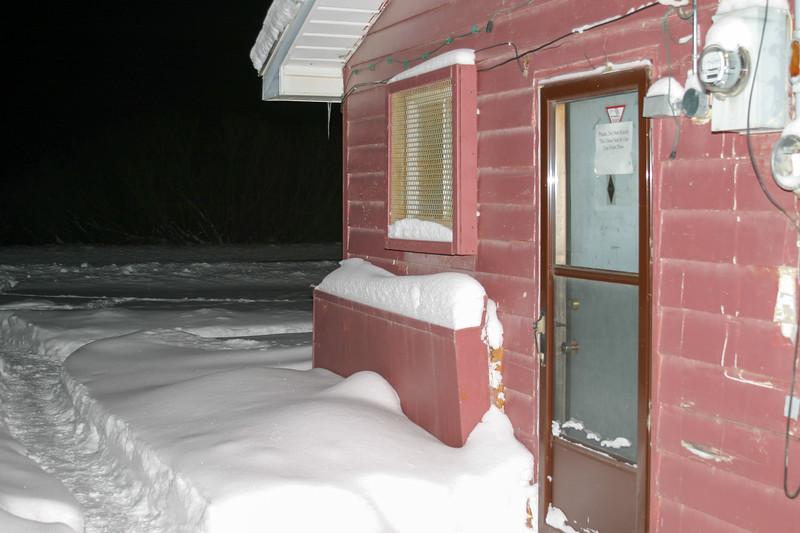 Clinic side door 2004 December 30