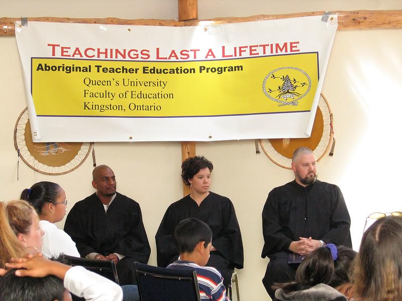 Aboriginal Teacher Education Program Graduation 2005.