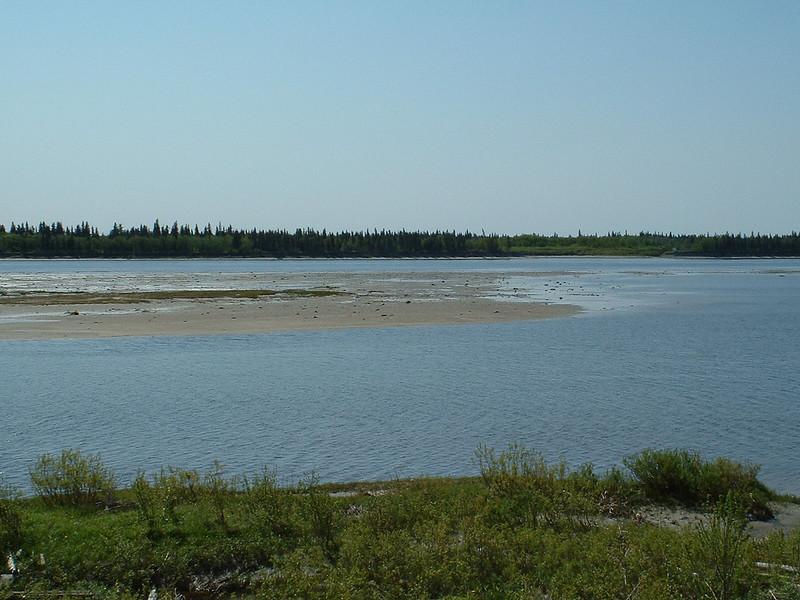 South end of sandbar 2003 June 12th.