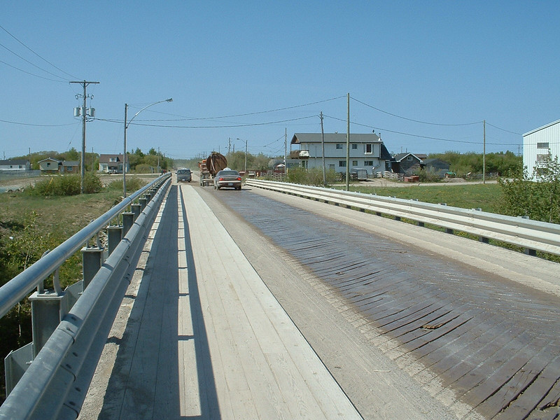 Single lane bridge carrying Ferguson Road over Store Creek. 2003 June 12th.