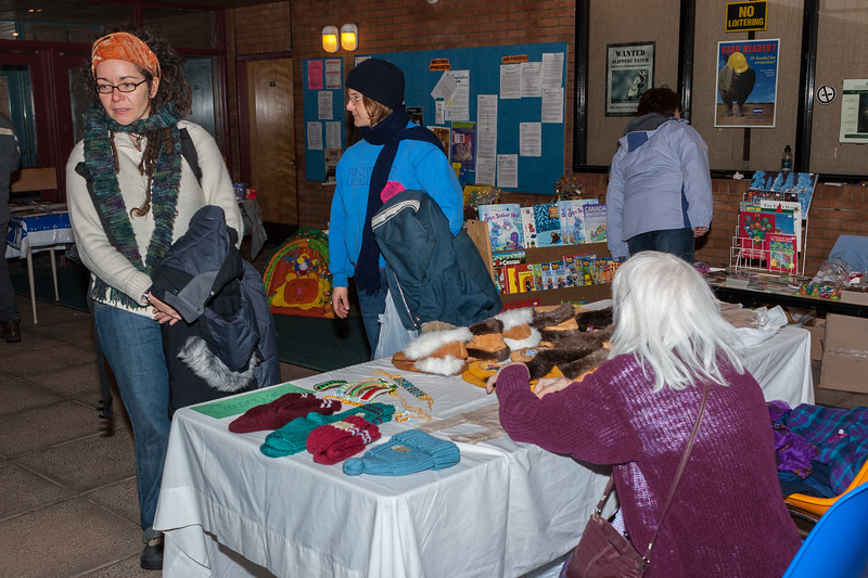 Rosie Blueboy at Christmas Bazaar. 2005 November 19