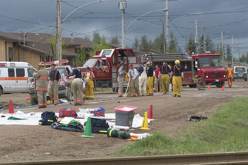 Emergency Response Exercise 2005. May 28