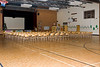 JBEC Gym set up for Bishop Belleau Separate School Christmas Concert 2007 December 13th.