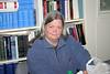 Laura Howarth at Keewaytinok Native Legal Services in Moosonee 2004 August 13th.
