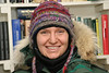 Carole Ferrari in Moosonee. 2005 January 2