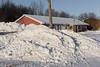 Keewaytinok Native Legal Services looking past snowbank view Dec 13 2005