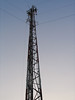 Ontario Northland microwave tower in Moosonee 2003 September 10th.