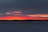 Sunrise reflected on the Moose River. 2005 November 27th.