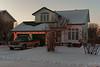 Turner Glenesk residence on Revillon Road deccorated for Christmas 2005 November 26