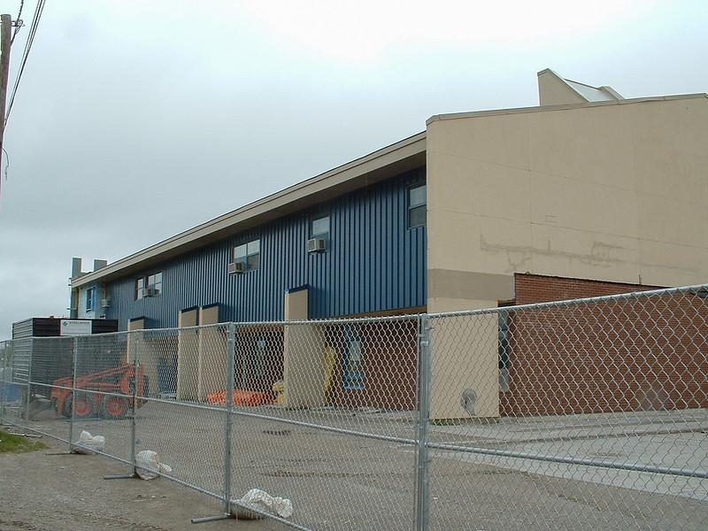 Moosonee Public School facelift.