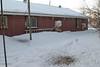 Backyard at Keewaytinok Native Legal Services 2014 December 30