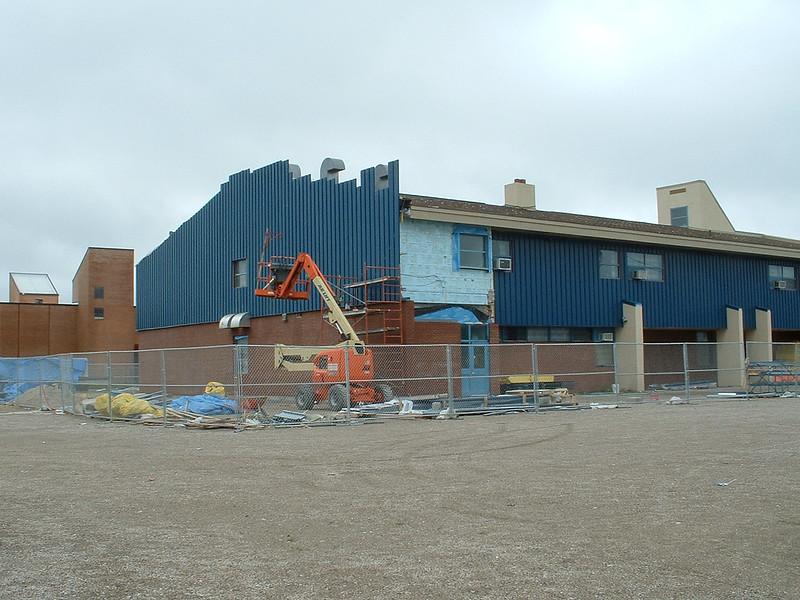 Moosonee Public School facelift. 2003 July 20