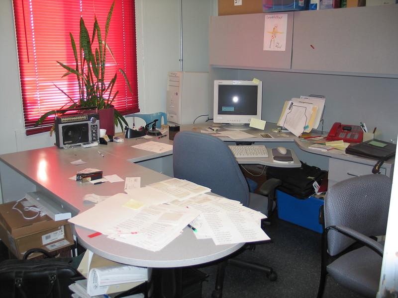 Executive Director's office 2004 January 4 Keewaytinok Native Legal Services