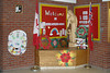 Front lobby welcome display at Bishop Belleau School 2004 November 20