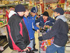 Bishop Belleau School students shopping for their Christmas party 2006 December 20th.