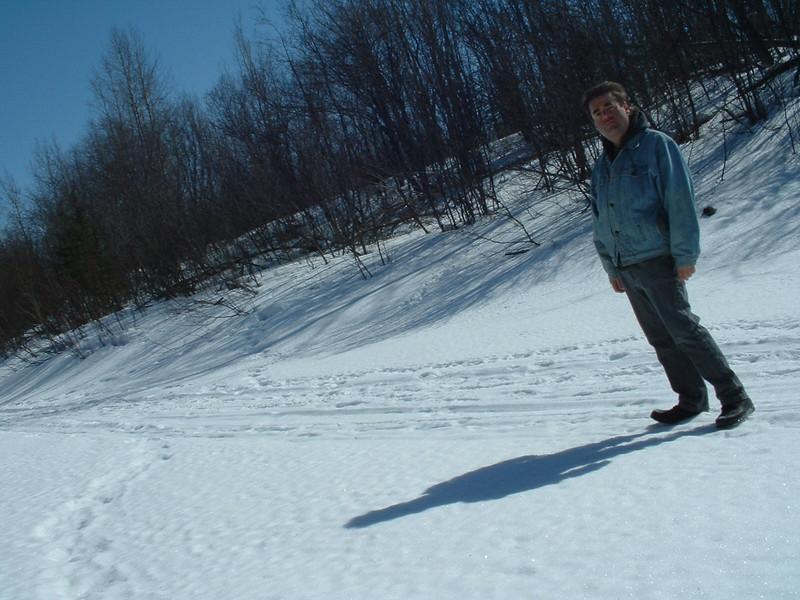 Paul Lantz, 2003 April 12th. Probably on Butler Creek.