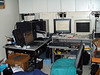 Computer setup in apartment bedroom. 2003 June 20