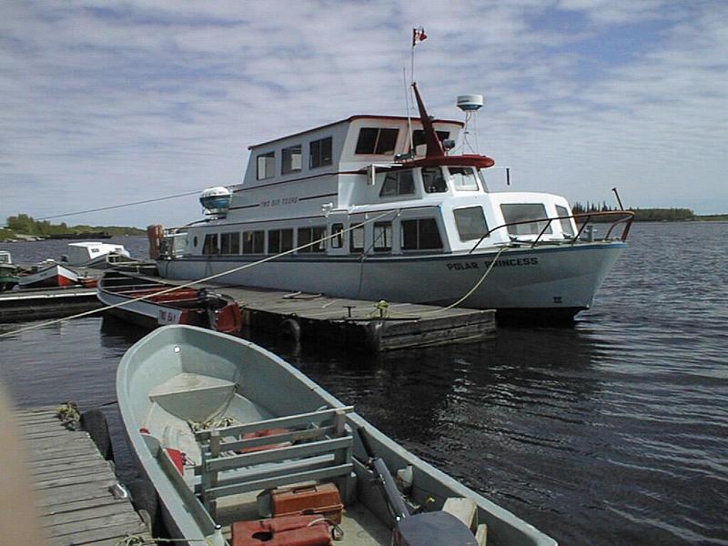 Polar Princess at dock 1998 June 7
