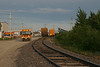 2004 July 23 school bus carrying tourists near end of tracks at Moosonee Airport