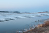 Looking up the Moose River from Moosonee. Water quite high. 2007 April 26th morning.