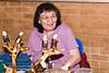 Laura  Mitchell at Christmas Bazaar. 2005 November 19