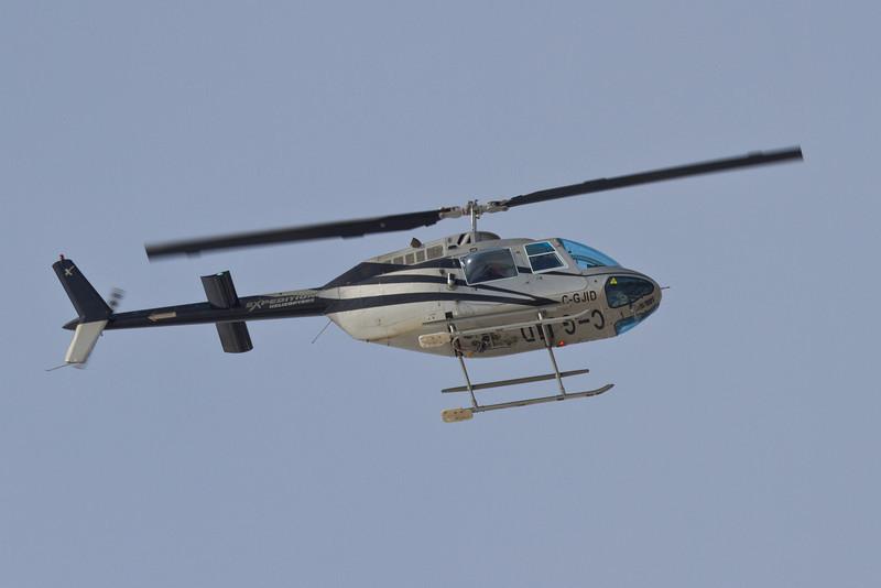 Helicopter C-GCIR at Moosonee