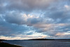 Clouds over Butler Island 2011 Nov 14