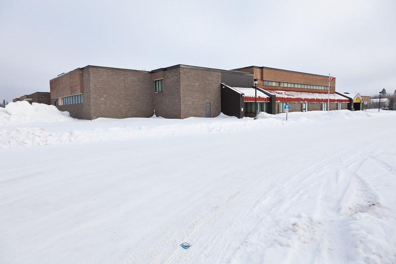 Northern Lights Secondary School in Moosonee, Ontario.