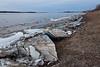 Shore ice.
