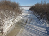 Store Creek looking towards the Moose River.