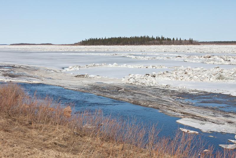 Moose River looking towards Butler Island